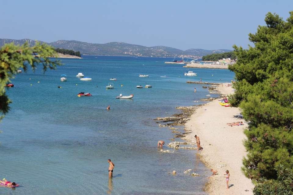Camping Kroatien Dalmatien Strand