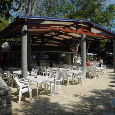 Restaurant Camping Kroatien
