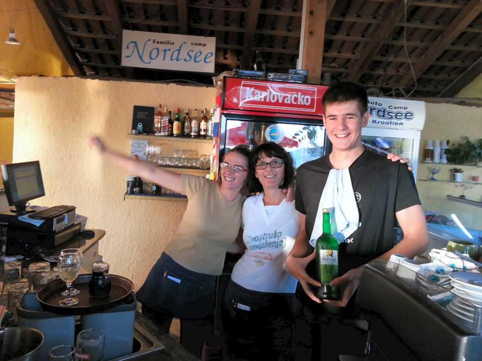 Team Restaurant Autocamp Nordsee