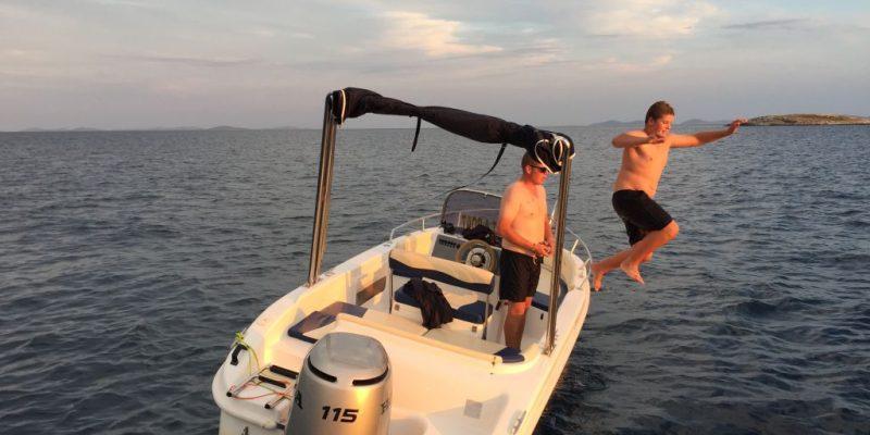 Boot mieten Kroatien Hurricane 600
