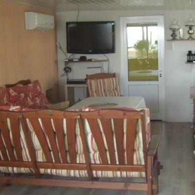 Wohnwagen mieten in Kroatien Sitzecke