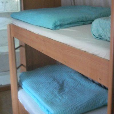 Wohnwagen mieten in Kroatien Etagenbett