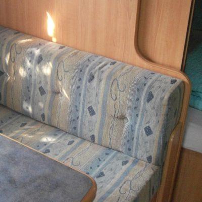 Wohnwagen mieten in Kroatien Wohnzimmer