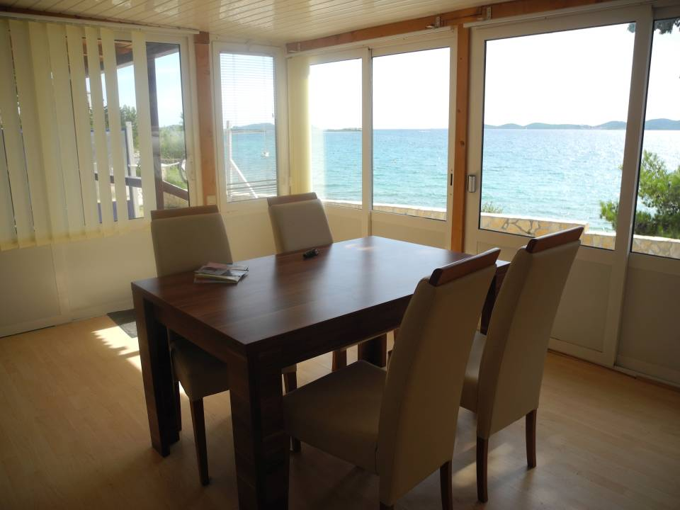 Mobilheim mieten in Kroatien Strandhaus