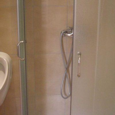 Wohnwagen mieten in Kroatien Dusche