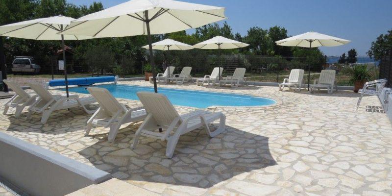 Ferienwohnung in Kroatien Pool