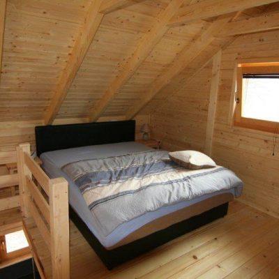 Schlafen unter dem Dach
