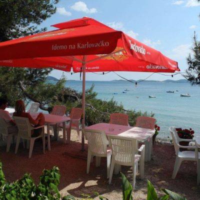 Blick Restaurant Autocamp Nordsee Kroatien