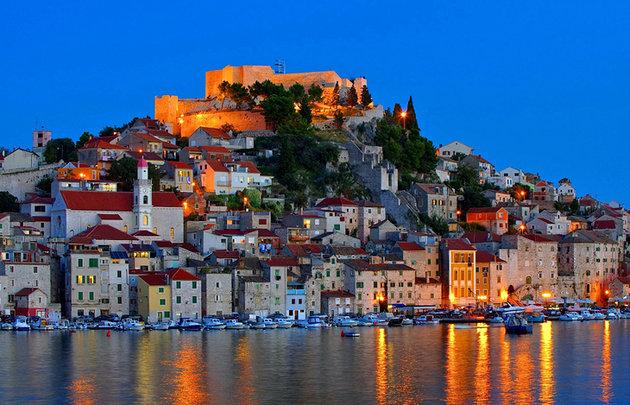 Sibenik Norddalmatien Kroatien
