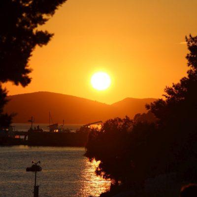 Sonnenuntergang Kroatien Meer