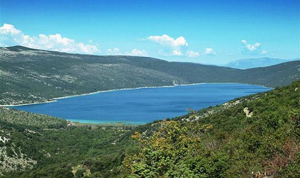 Vrana-See Norddalmatien Kroatien