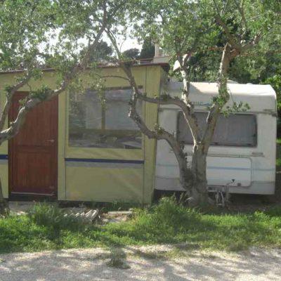 Wohnwagen in Kroatien Camping