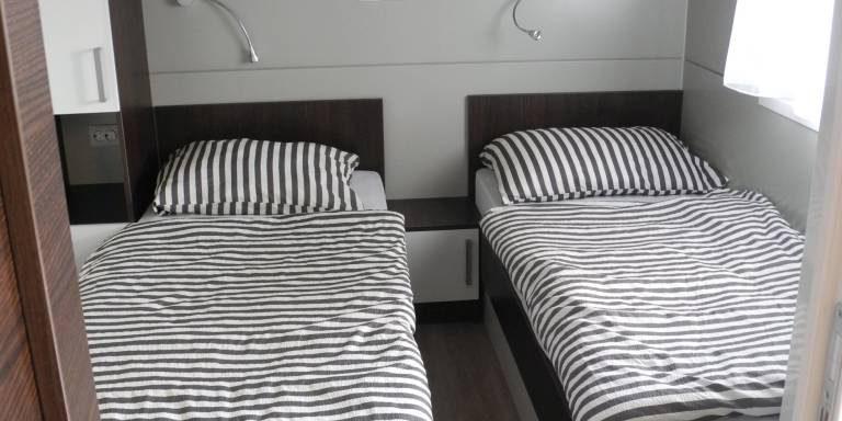 Mobilheim mieten in Kroatien Schlafzimmer