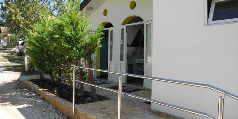 Autocamp Nordsee Kroatien Sanitäranlagen