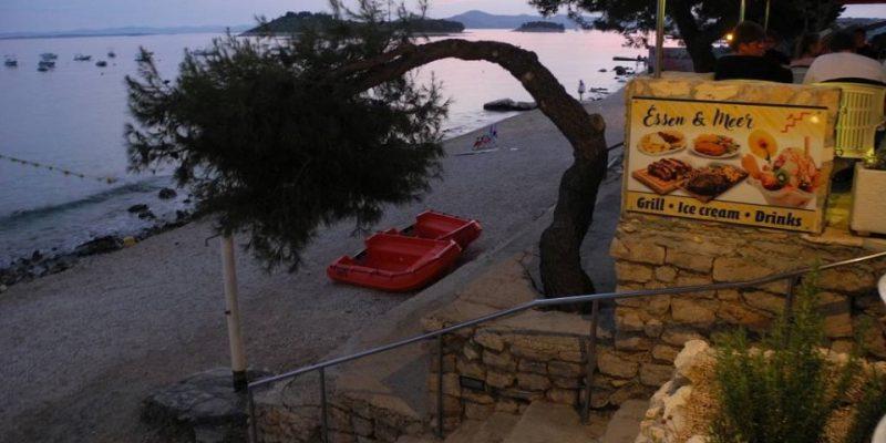 Essen und Meer Kroatien