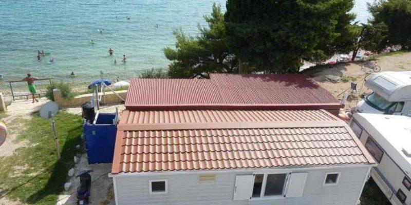 Mobilheim mieten in Kroatien Camping